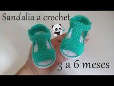 Crochet Sandals From 3 To 6 months Crochet Sandals From 3 To 6 months – We Love Crochet Baby Girl Sandals, Crochet Baby Sandals, Crochet Baby Booties, Crochet Slippers, Baby Girl Shoes, Crochet Shoes Pattern, Baby Shoes Pattern, Shoe Pattern, Love Crochet