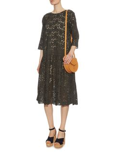 Martha broderie-anglaise cotton dress   Queene and Belle   MATCHESFASHION.COM UK