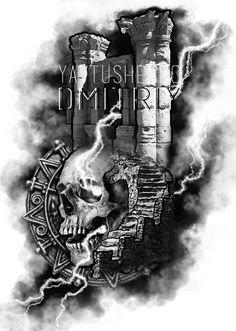 Tattoo artist from Ukraine - Yavtushenko Dmitriy #tattooartist #ukraineart #artistkarat #yavtushenkodmitriy