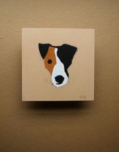 Pirate jack russell terrier pastel painting