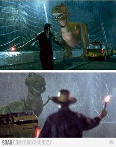 Jurassic Park & Toy Story meet!!!