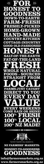 Love the farmers' market branding