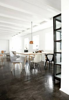 A look around a beautiful Danish house from Norm Architects that combines old and new, rustic and industrial, minimalist and cosy. Danish House, Fishermans Cottage, Copenhagen Style, Interior Decorating, Interior Design, Decorating Ideas, Decor Ideas, Room Ideas, Piece A Vivre