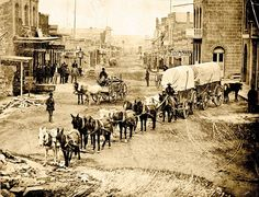 Prospectors who came to Helena, Montana, could be a deadly bunch. In 1867, gunfighter John Bull killed gambler-gunman Langford Peel on Helena's Main Street (photo, 1879). Five years before, Bull had the upper hand in a gunfight with horse thieves in the mining camp of Gold Creek.