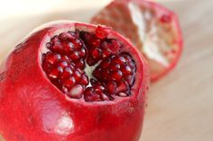 How to Peel a Pomegranate - wish I had read this about two decades ago. The first time I peeled one it looked like a murder was committed in my kitchen, I learned quickly.
