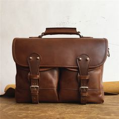 Angler's Bag in Tobacco from Marlondo Leather Co.