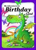 On your child's birthday, they are invited by seven beautiful butterflies to fly over the rainbow to find out why the birthday dragon is unhappy, which is turning the rainbow red. Your child finds the dragon and they discover that they share the same birthday, which makes the dragon very happy. Your child returns home to find a special birthday surprise.    This paperback book measures 9 x 6.5 inches    Ensure all products have the exact personalization that you desire - including upper ....