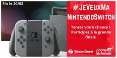 Gagnez votre Nintendo Switch