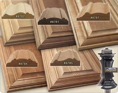 In this how-to video, we& show you the way to make a beautiful raised panel door using the versatile, carbide-tipped MLCS Mitered Door Frame Bit! Woodworking Router Bits, Diy Router, Wood Router, Woodworking Projects Diy, Woodworking Store, Raised Panel Cabinet Doors, Diy Cabinet Doors, Cabinet Door Router Bits, Door Design Interior