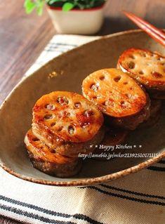 生姜たっぷり!蓮根の挽き肉はさみ照り焼き | たっきーママ オフィシャルブログ「たっきーママ@Happy Kitchen」Powered by Ameba