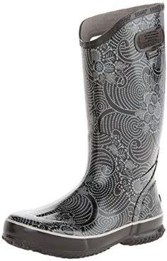 Amazon.com: Bogs Women's Batik Rain Boot: Shoes