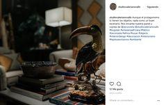 """VALERIANO VALLS Studio Deco & ZEconZeta - En Instagram """"Aunque el protagonismo lo tienen los objetos, nada como un buen escenario. Nos encanta nuestra pared y cojines de @zeconzeta"""" con nuestro tejido """"RINGO"""" de la Colección """"BLUES"""" Más Info: Gonzalo de Ayora, 4. Córdoba. España - @studiovalerianovalls #bogolan #artesaniaafricana #fabrics #zeconzeta #africa #tucan #objects #interiordesign #decoracion #interiorismo #tejidosexclusivos #ambiente #telas #textil #deco #decoracion #nuevacoleccion"""