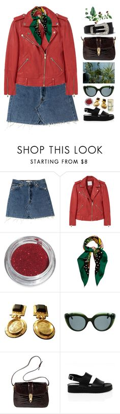 """Untitled #413"" by mathildejohannessen ❤ liked on Polyvore featuring MANGO, Dolce&Gabbana, E L L E R Y, Gucci, San Crispino and River Island"