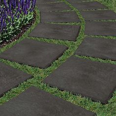 Youu0027ll Never Want To Use Stone Pavers Again · Grass AlternativeConcrete  PatiosPatio ...