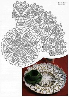 One of my favorite doilies patrerns and one of tge first I crocheted. All those clusters were painful to my hands because they weren't used to working with small thread. Of course, it was worth it! Crochet Doily Diagram, Crochet Doily Patterns, Crochet Chart, Thread Crochet, Filet Crochet, Crochet Motif, Crochet Designs, Crochet Stitches, Stitch Patterns