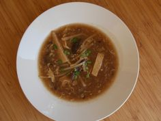 Hot and Sour Soup - Cure for the common cold.