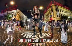 October 26: Party Like A Zombie At 22 Halloween Parties In Gaslamp @ San Diego Zombie Crawl