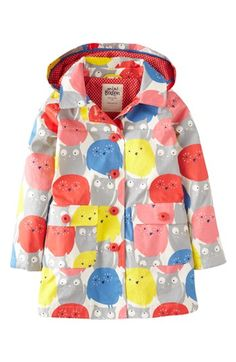 Mini Boden 'Rainy Day' Raincoat (Toddler Girls, Little Girls & Big Girls) available at #Nordstrom
