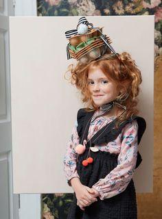 8afbfb088 Meri Meri Cherry Pom Pom Necklace | The Original Party Bag Company Girls  Designer Clothes,