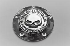 #Harley Harley Davidson WILLIE G Skull Timing Derby Cover Chrome -New please retweet