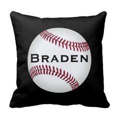 Custom #Baseball Throw #Pillow