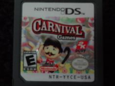 Carnival Games Nintendo DS Game Only Ds Games, Carnival Games, Nintendo Ds, Booklet, Arcade, Lunch Box, Products, Bento Box, Gadget