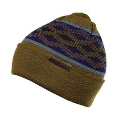 Mens Fold Up Beanie - The Ladro is a stylish Mens beanie that comes in a multitude of colors. This knit beanie is perfect for winter beanie style