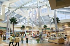 When it's too rainy to go to the beach and too hot to shop at those outdoor retail complexes, Coastal Grand Mall is your air-conditioned oasis for summertime shopping on the Grand Strand. Myrtle Beach Shopping, Myrtle Beach Resorts, Myrtle Beach Vacation, Mall Design, Shopping Malls, Summertime, Places To Go, Coastal, Street View