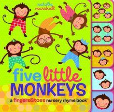 Five Little Monkeys INA BRDBK