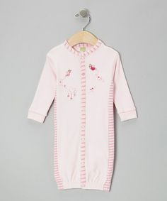 Another great find on #zulily! Pink Sweet Dreams Fairy Convertible Gown - Infant #zulilyfinds