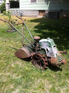 Our Garden Tractors - Rare Garden Tractors Antique Tractors, Vintage Tractors, Old Tractors, Lawn Tractors, Walk Behind Tractor, Yanmar Tractor, Cub Cadet Tractors, Garden Tractor Attachments, Tractor Plow