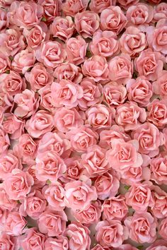 DIY Flower Backdrop Wall using Coral Paper Flowers by KVW cheap wedding decor ideas