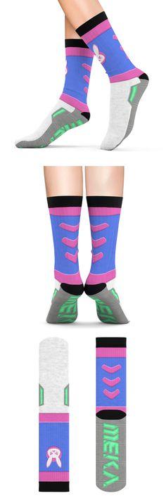 6c4ee3905 D.Va Overwatch socks  dva  dvacosplay  overwatch  cosplay  socks