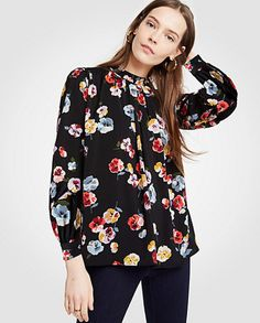 A perfect winter floral print #ad