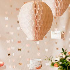 DIY Hot Air Balloon Party Decor