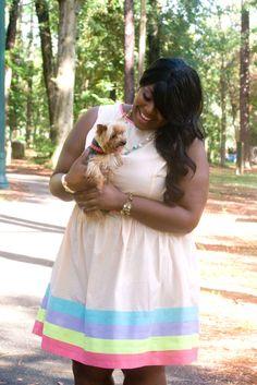 Pretty Pastels   :::Musings of a Curvy Lady::: #plussizefashion #curvygirl #psblogger #ootd #womensfashion #pastels #yorkie #asos