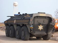 (Oakland Co. MI) TURKISH FNSS PARS 8x8 using by USA police department armored combat vehicle apc ifv