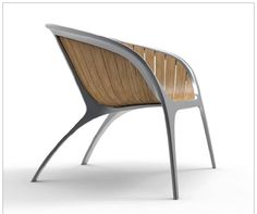 Bella chair by Gloster. New definition of beautiful outdoor furniture. See uber-interiors.com for all Gloster products