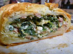 Spanakopita, Food And Drink, Appetizers, Low Carb, Pasta, Ethnic Recipes, Desserts, Quiche, Burger