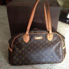 Louis Vuitton Montorgueil Gm Shoulder Bag $915
