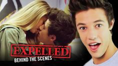 Cameron Dallas and Expelled Cast FIRST KISS Stories! | Expelled Movie Be...