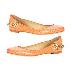 Just bought these, LOVE!  Rachel Zoe Laura Genuine Snakeskin Flat