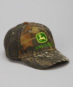 d6c689d68ec93 John Deere Camo Branded Baseball Cap