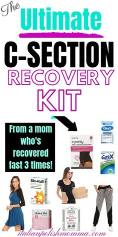 Recovery Tips C-section recovery kit! Here are c-section tips to help you rock your postpartum and get you recovered fast after a cesarean section! This is what I used to recover fast after three c-sections! Here are c-section tips . 3. Trimester, First Trimester, Postpartum Care, Postpartum Recovery, Postpartum Outfits, Gentle Parenting, Parenting Tips, Parenting Quotes, Post C Section