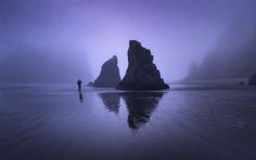 Stormy Days - Even on dark and stormy days, Ruby Beach is dramatically beautiful - Olympic National Park, USA