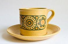 "Kiln Craft ""Bacchus"" Staffordshire Potteries 1972"