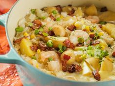 Quinoa Corn Chowder recipe from Trisha Yearwood - Watched Trisha's show and fell in love with this recipe.  Would be good for brunch or dinner!