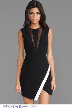 New 2015 Hot Black Patchwork Holoow Out  Sleeevless Sexy Mini Summer Casual Dress Women Vestidos LC21041 Free Shipping Drop Ship
