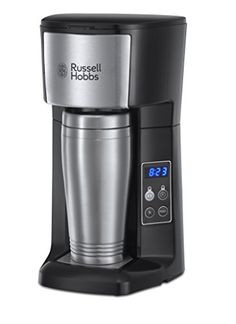 buy now   £27.99   The Russell Hobbs 22630 Brew & Go Coffee Machine is great for those who like to grab a coffee on the go. This stylish stainless steel coffee  ...Read More