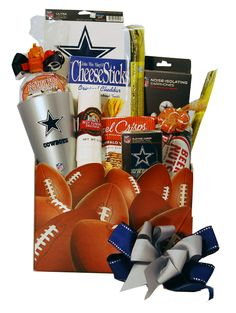 Dallas Cowboys Gift Basket. Do you know the ultimate Dallas Cowboys Fan?. Well